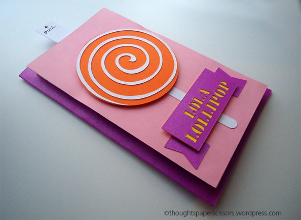 Lollipop Surprise Birthday Card