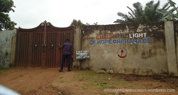 The orphanage gate