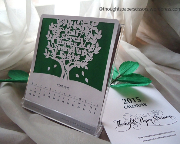 June 2015 Monthly Calendar Project