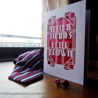 Customised Thank You Cards
